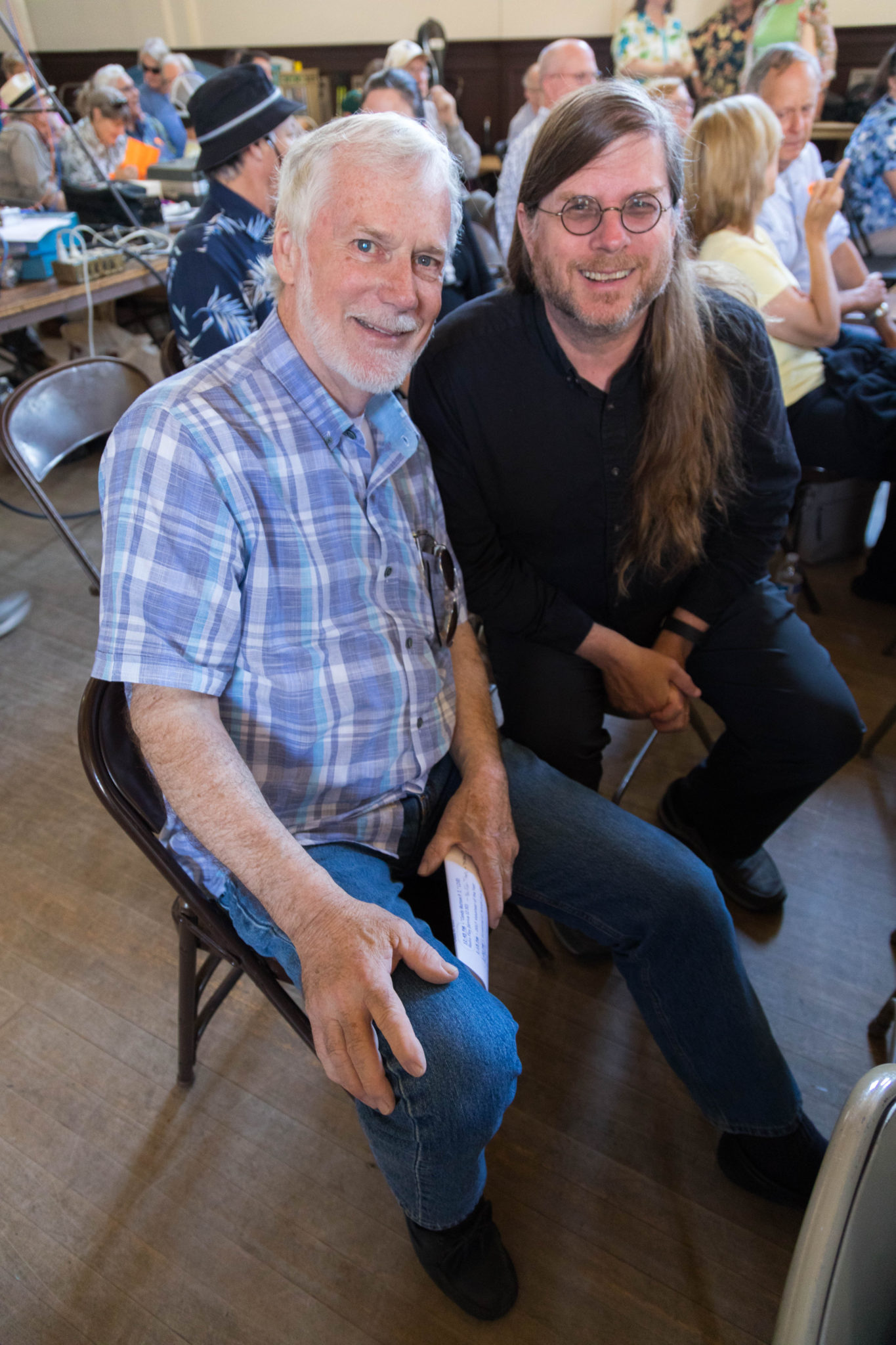 Bill Brooks, Tim Pozar, California Historical Radio Society