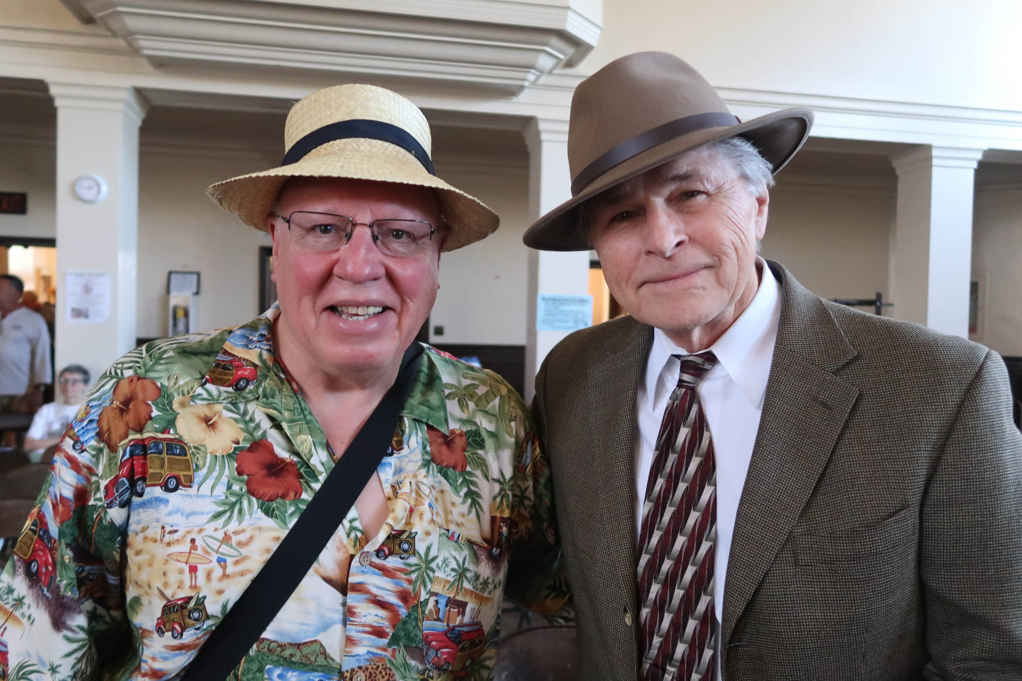 Alan Bowker, Sam Van Zandt, California Historical Radio Society